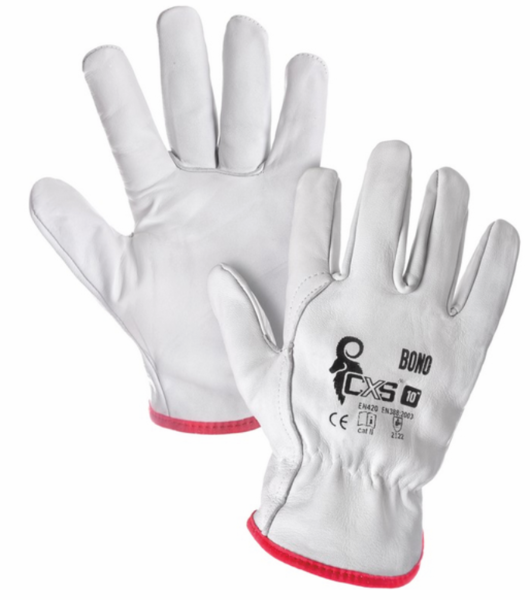 Pracovní rukavice kožené BONO