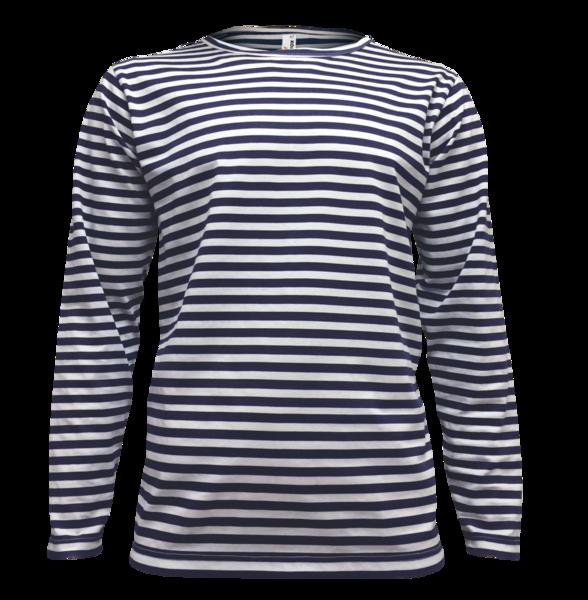 Tričko námořnické pruhované - dlouhý rukáv XS