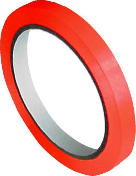 Lepicí páska 9 mm červená