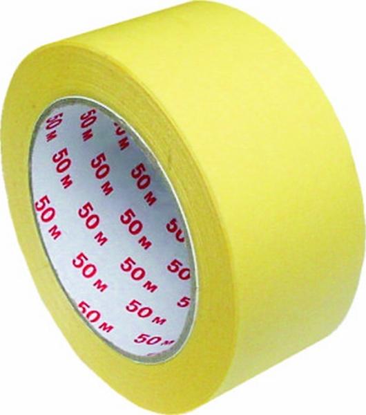 Maskovací páska 50 mm-Lepicí páska krepová 50 mm x 50 m