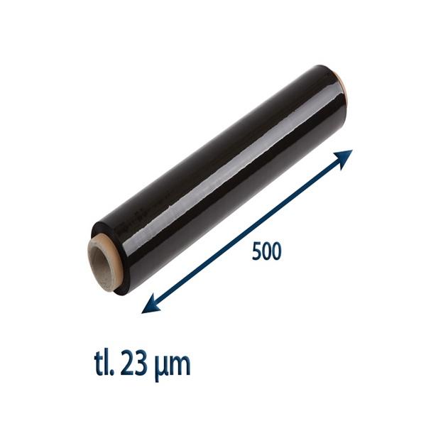 Stretch fólie černá 500/23my