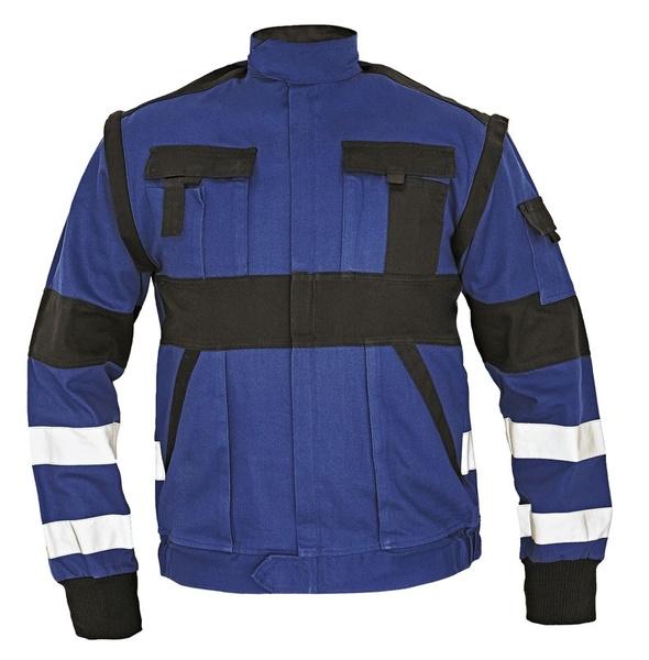 Pracovní bunda s reflexními pruhy 50