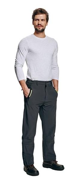 softshellové kalhoty OLZA XXXL
