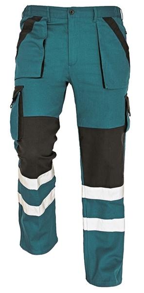 Pracovní kalhoty s reflexními prvky 56