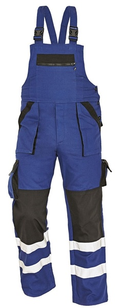 MAX kalhoty laclové s reflex pruhy 56
