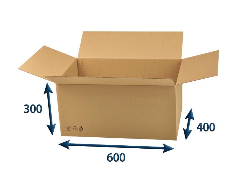 Krabice 5VL 600x400x300 mm