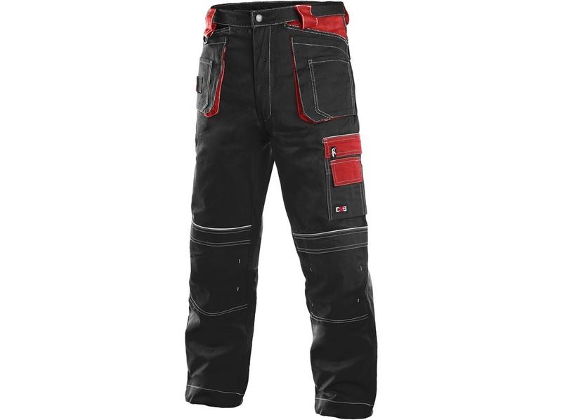 Montérky CXS černo-červené 48