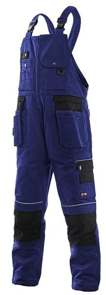 Kalhoty ORION KRYŠTOF modro - černé 56