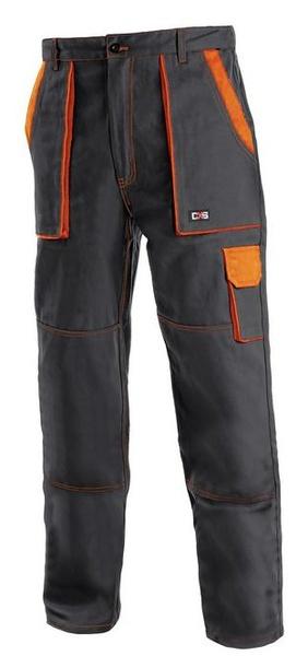Kalhoty LUX černo-oranžové 68