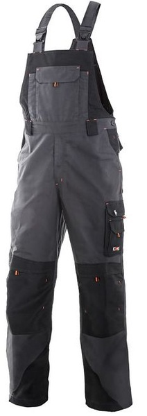 Kalhoty SIRIUS s laclem,oranžové doplňky 56
