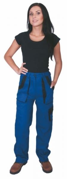 Kalhoty LUX dámské modré