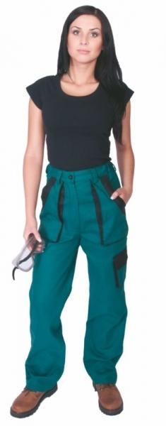 Kalhoty LUX dámské zelené 42