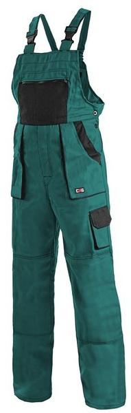 Kalhoty LUX dámské s laclem zelené 56