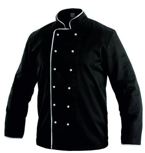 Kuchařský kabát RONDON černý 44