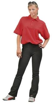 Kalhoty IVA černé, dámské