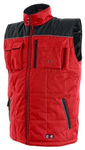 Vesta zimní SEATLE červená XL