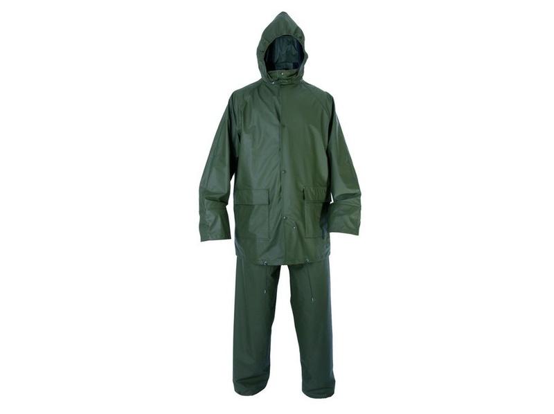 Oblek PROFI nepromokavý, zelený M