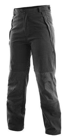 Kalhoty BOSTON softshellové, unisex XS