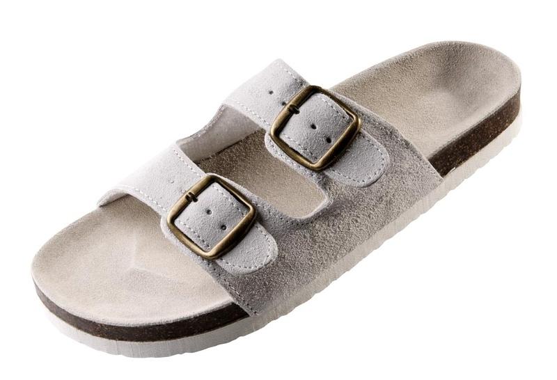 pantofle PUDU bílé 38