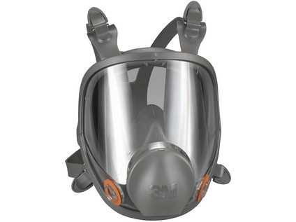celoobličejová maska 3M 6800
