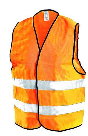 Vesta výstražná oranžová XL
