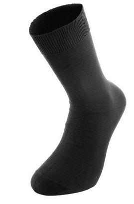 Ponožky letní 100% bavlna, černé 43