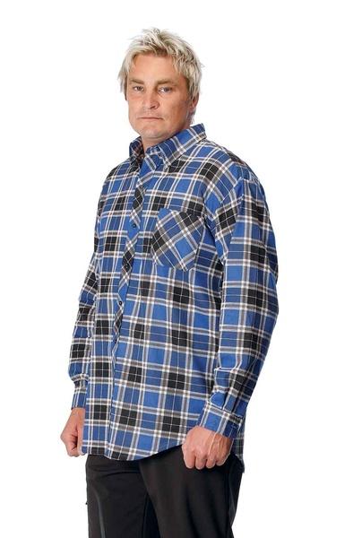 flanelová košile bez SATURN