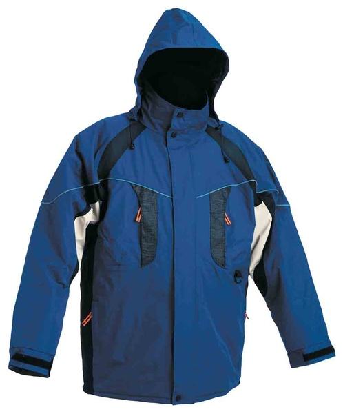 zimní pracovní bunda NYALA modrá S