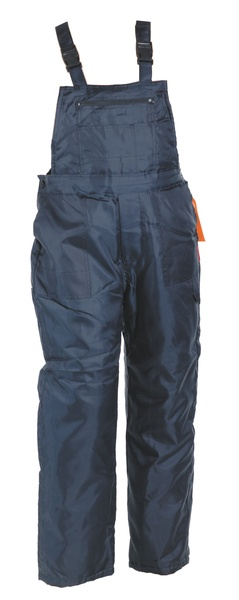 Zateplené kalhoty TITAN modrá