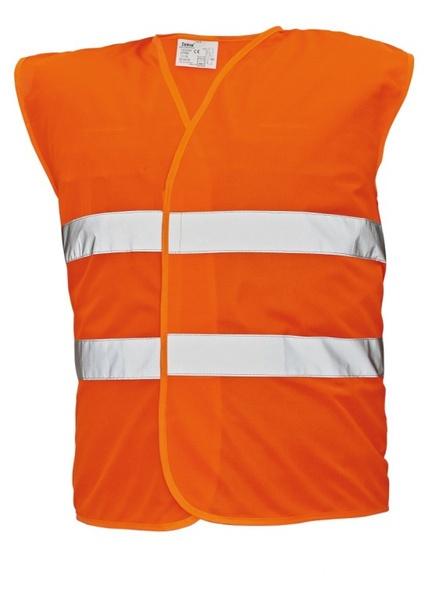 Signální vesta LYNX oranžová XXXL
