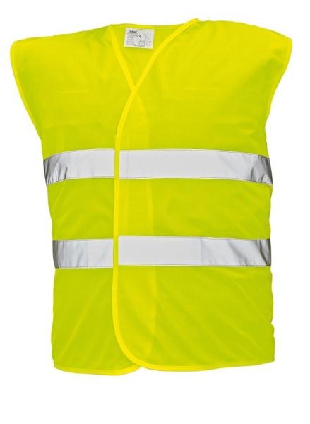 Signální vesta LYNX žlutá XXXL