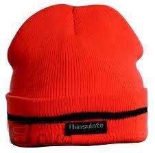 Zimní čepice TURIA oranžová od 106 33e5ca6035