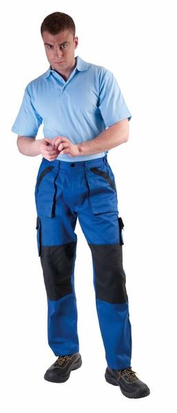 kalhoty MAX do pasu modré 56