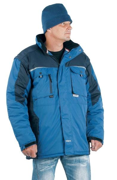 ALLYN zimní bunda 2 v 1 modrá L