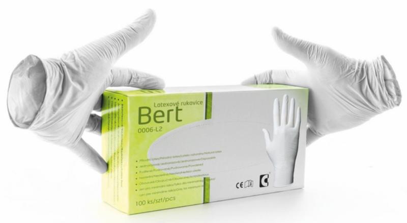 Jednorázové rukavice BERT