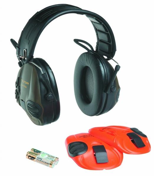 sluchátka PELTOR MT16H210F-478-GN Sport Tac