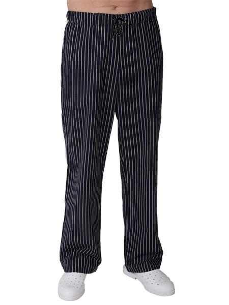 Černé kuchařské kalhoty dámské