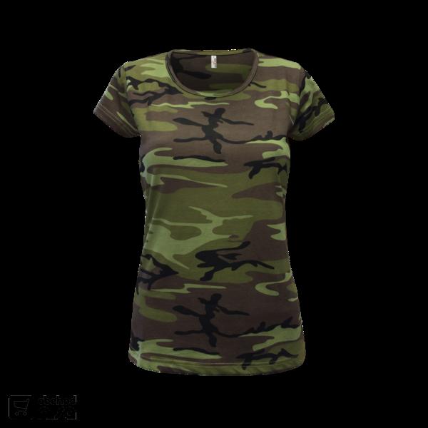 349a476d841c Maskáčové tričko dámské od 168