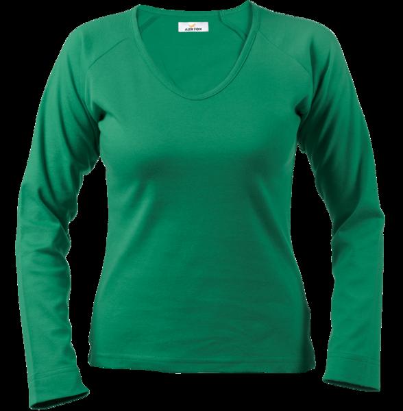 Triko dámské zelené S