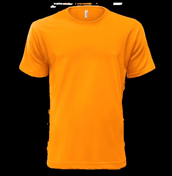 Triko krátký rukáv oranžové 200 g S