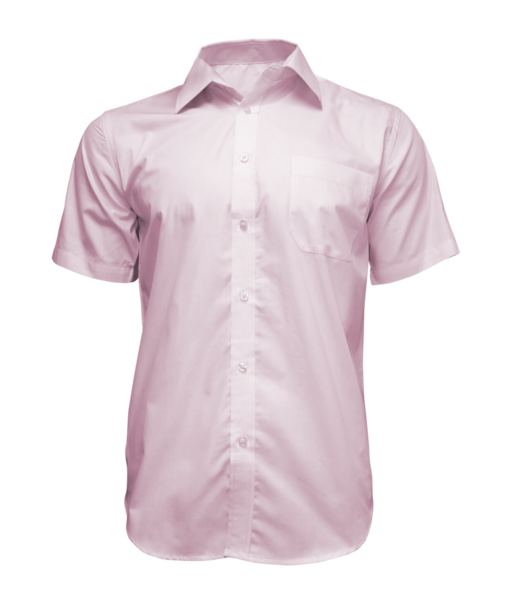 Košile pánská růžová S