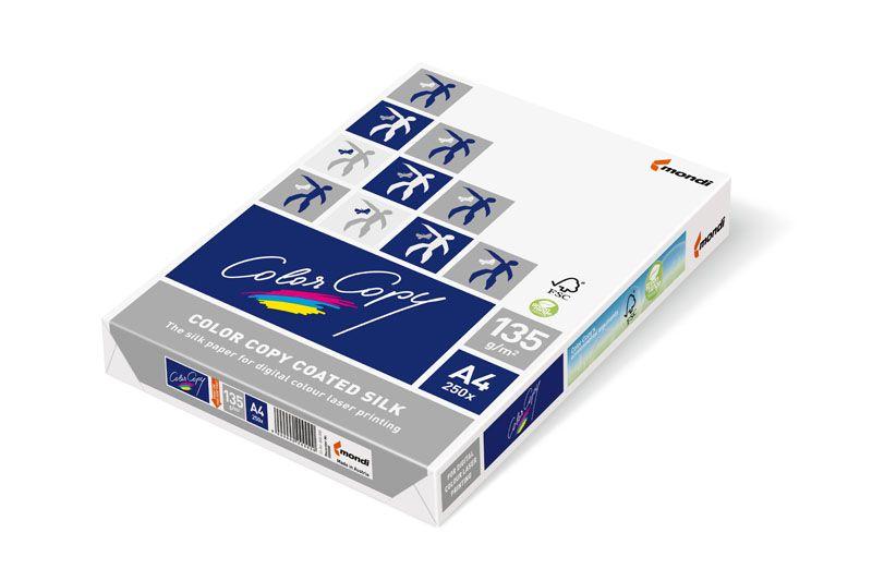 Xerografický papír ColorCopy - A4 200 g / 250 listů Coated Silk