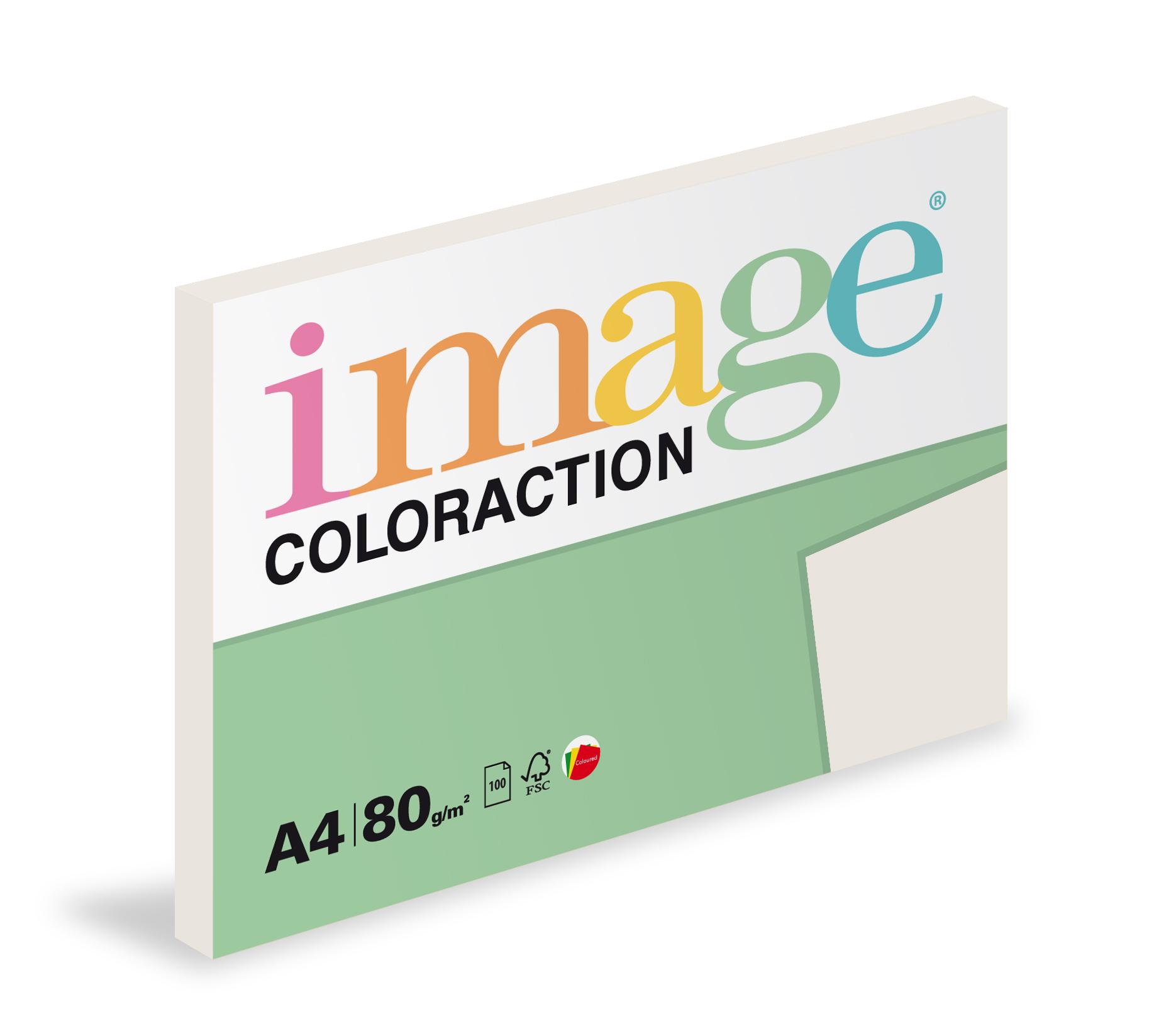 Xerografický papír barevný Coloraction 100 listů - GR21 iceland / středně šedá / 100 listů