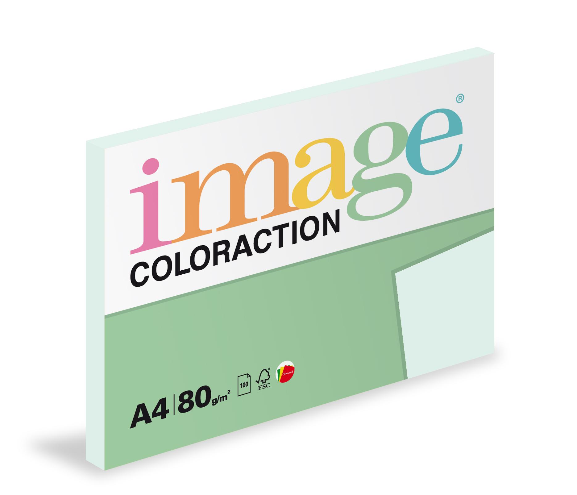 Xerografický papír barevný Coloraction 100 listů - BL29 lagoon / pastelově světle modrá / 100 listů