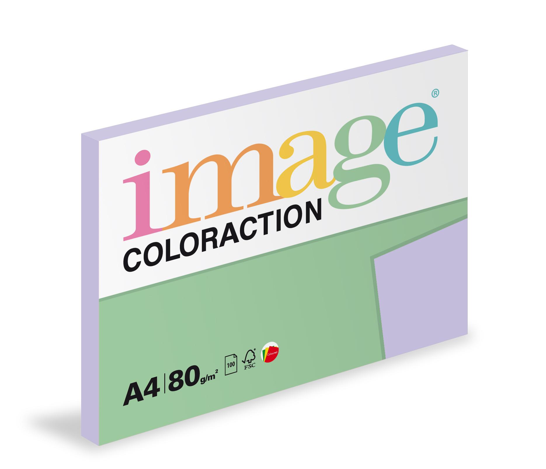 Xerografický papír barevný Coloraction 100 listů - LA12 tundra / pastelově fialová / 100 listů