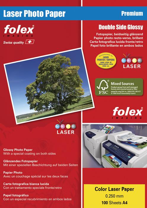 Fotopapíry CLP Photo paper pro laserové tiskárny - A4 250 g/ 100 listů