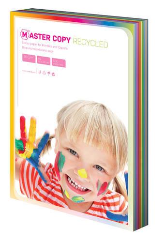 Barevné papíry A4 80 g - EKO Master / 500 listů / barevný mix