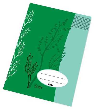 Sešity školní ECONOMY 60 listů - A4 / čtvereček