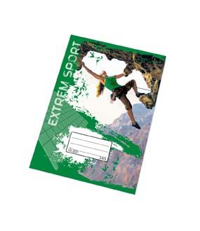 Sešity školní PREMIUM 60 listů - A5 / čtvereček