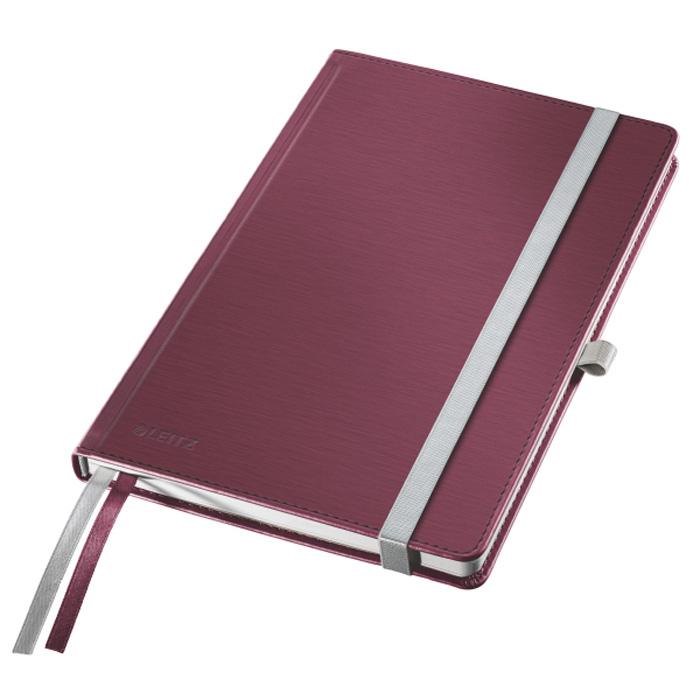 Kniha záznamní Leitz Style - A5 / granátově červená